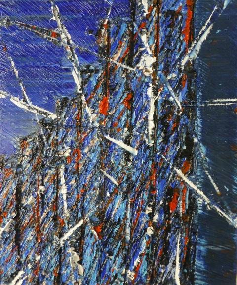 Saarinen's No. 2 Tribute • 24 x 18 Oil on Canvas