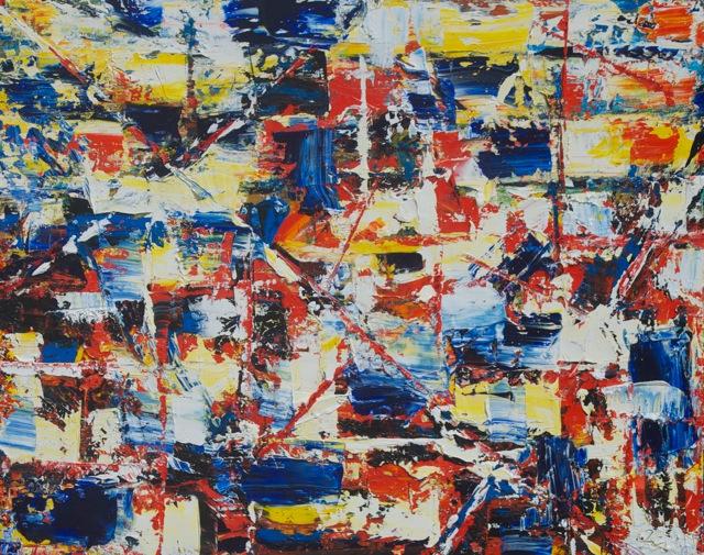 Buddha Beach 24 x 30 Oil on Canvas