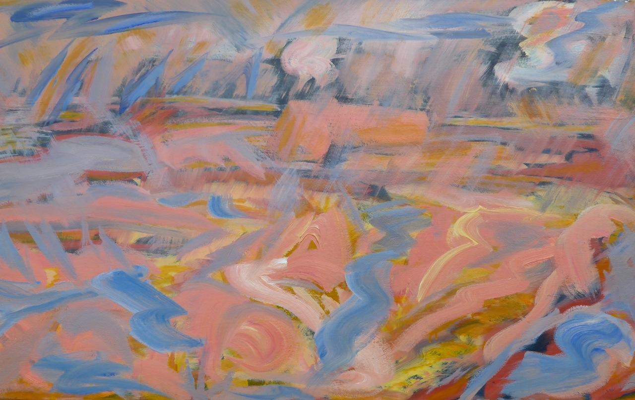 Montauk• 30 x 48 Oil on Canvas