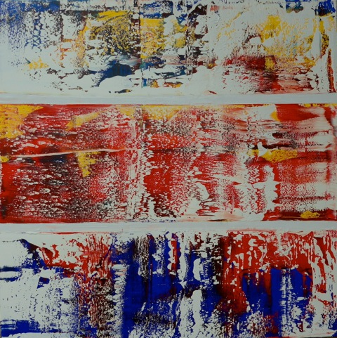 Triptych Style• 36 x 36 Oil on Canvas