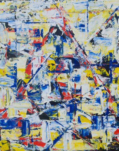 Windansea • 30 x 24 Oil on Canvas