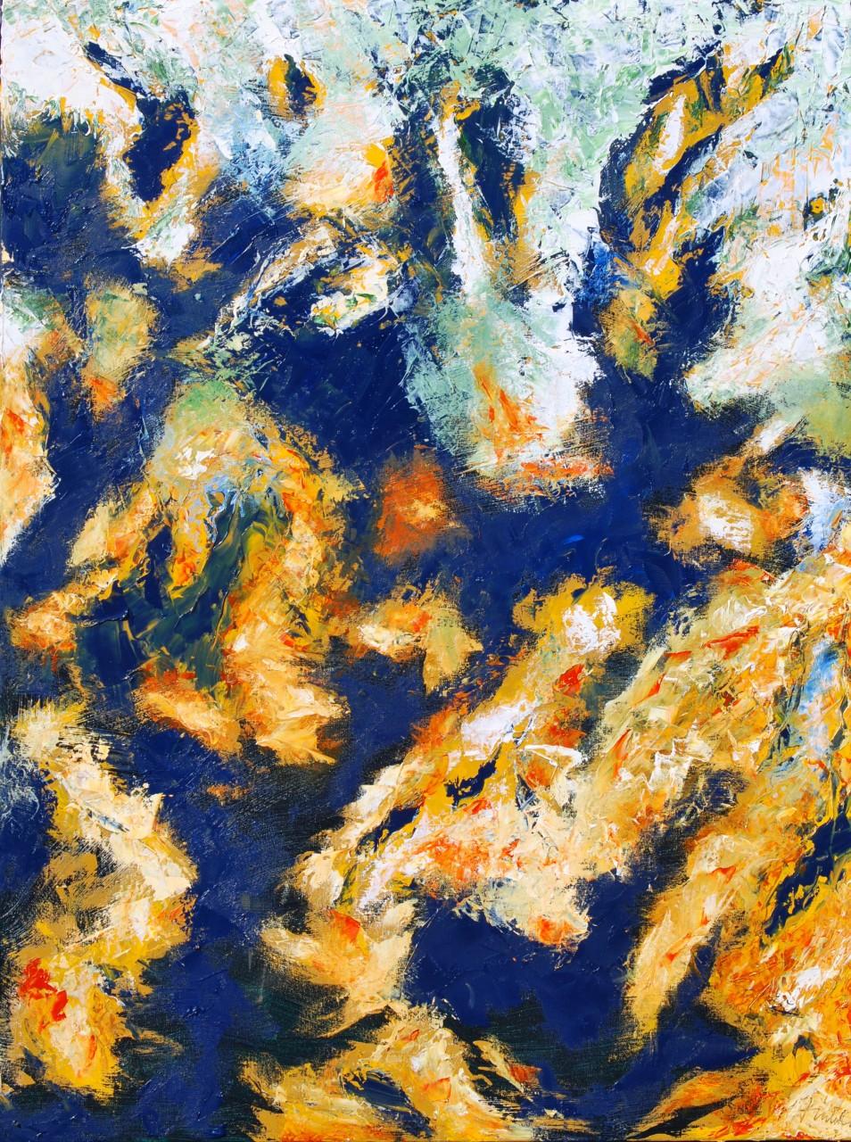 Choices 2 48 x 36 Oil on Canvas