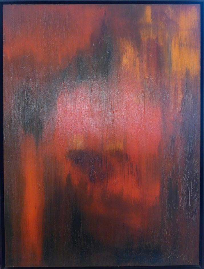 Juicey • 48 x 30 Oil on Canvas