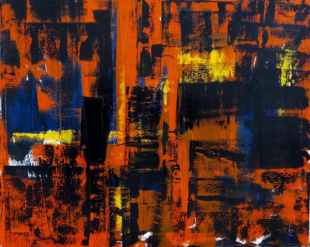 Hell's Kitchen Oil on Canvas - 48 x 60